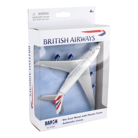 Diecast Metal Aircraft Toy Commercial Airplane - British Airways A380 Airways Dc 10 Model