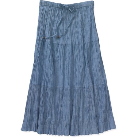 Crinkle Broomstick Skirt 77