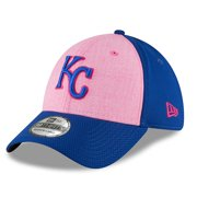 Kansas City Royals New Era 2018 Mother's Day 39THIRTY Flex Hat - Pink