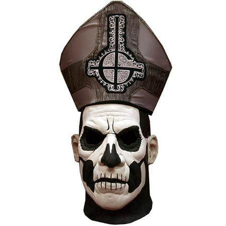 Ghost Papa Emeritus II DELUXE Latex Costume Overhead Mask