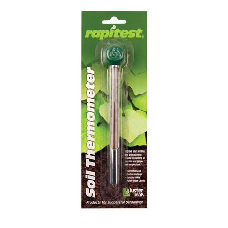 1618 Rapitest Soil Thermometer, Great tool for determining soil temp for early season and transplanting By Luster -