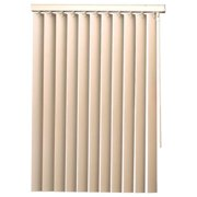 Designer'S Touch 3.5-Inch Pvc Vertical Blinds  Alabaster  43X60 In.