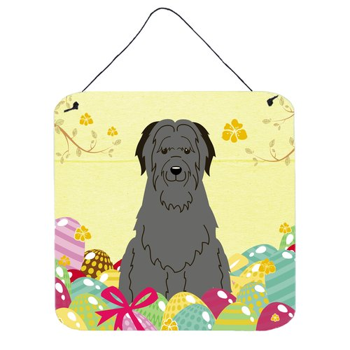 The Holiday Aisle Easter Eggs Briard Metal Wall D cor