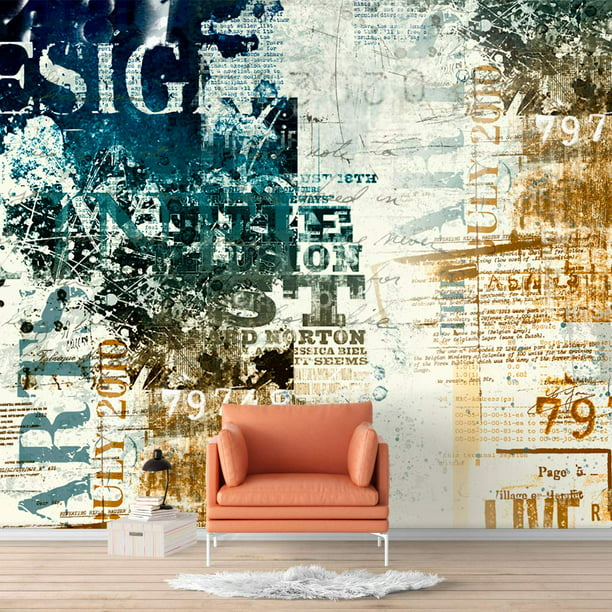 Wall26 Wall Murals For Bedroom Abstract Banksy Street Art Removable Wallpaper Peel And Stick Wall Stickers Walmart Com Walmart Com