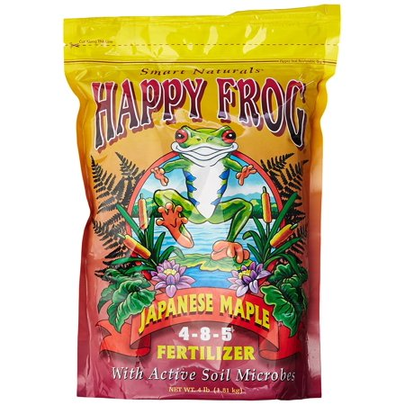 FoxFarm FX14055 FoxFarm Happy Frog Japanese Maple Fertilizer, Japanese maple fertilizer uses lower nitrogen formula that supports a natural.., By Fox Farm
