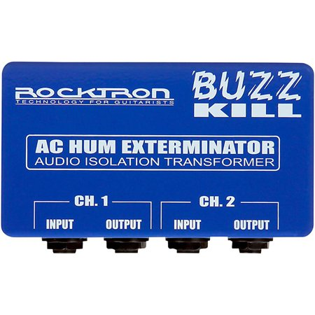 Nady Hum Eliminator - Rocktron Buzz Kill AC Hum Eliminator Guitar Effects Pedal