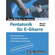 Pentatonik für E-Gitarre - eBook