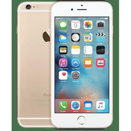 c17d41466 Refurbished Apple iPhone 6 Plus 64GB, Gold - Unlocked GSM - Walmart.com
