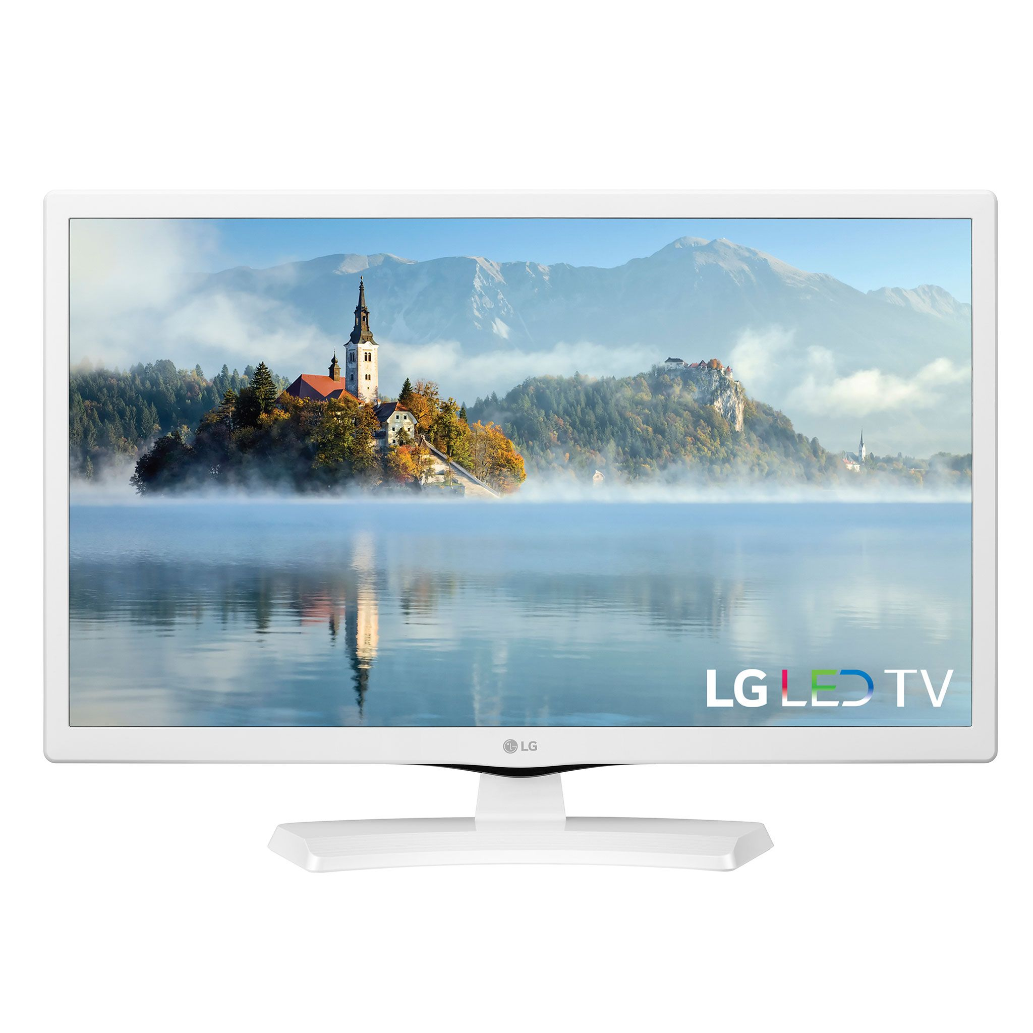 "LG 24"" Class HD (720P) LED TV (24LJ4540-WU), White"