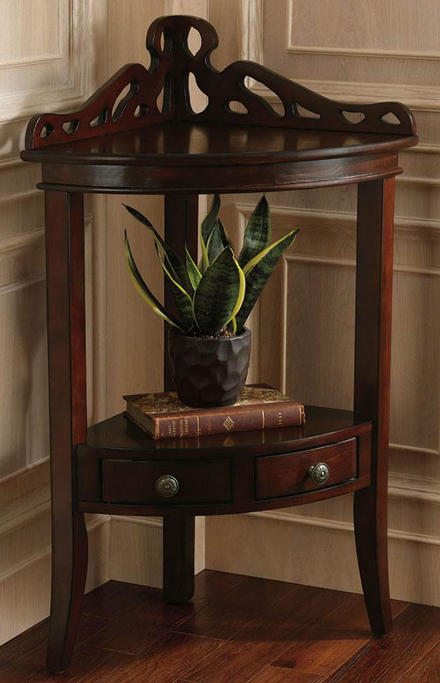 Exceptionnel Bombay Gallery Corner Accent Table
