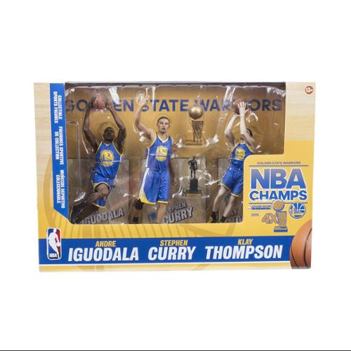 McFarlane Toys NBA Golden State Warriors 2015 Champions Action Figures