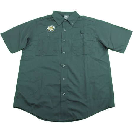"Knights Apparel Mens Size Medium(38/40) WSU ""Wichita State"" Fishing Shirt, Black"