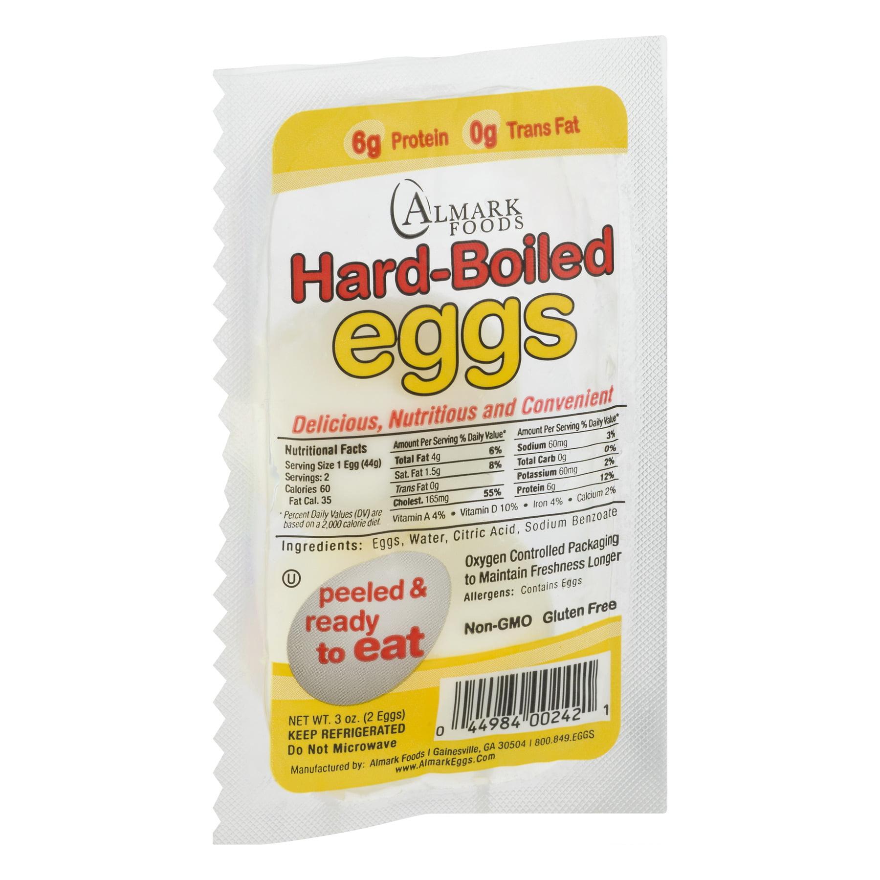 Almark Foods Almark Eggs, 2 ea - Walmart com