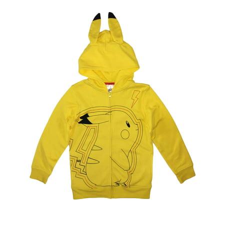 Pokemon Boys Pikachu Zip Hoodie