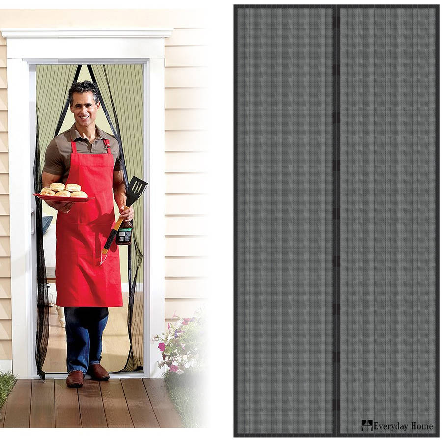 Incroyable Magnetic Screen Door With Heavy Duty Magnets And Mesh Curtain By Everyday  Home   Walmart.com