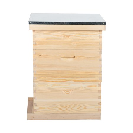 Orion Motor Tech 20 Deep Frame 10 Medium Frame with 3 Hive Box for Complete Hive w/ Metal
