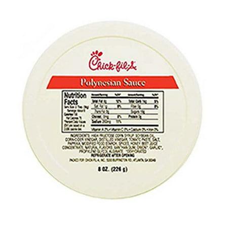 Chick-Fil-A Polynesian Sauce 8 oz Tub