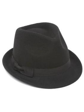 Winter Wool Trilby Fedora Hat