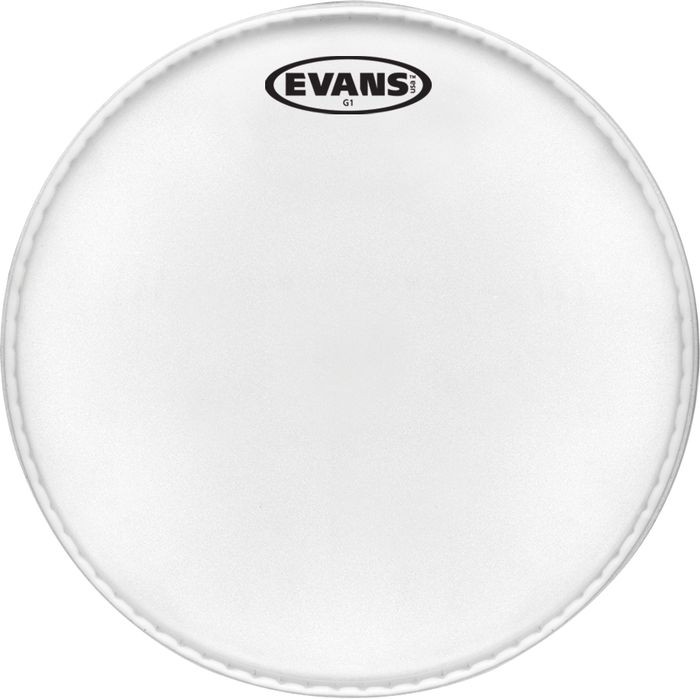 Evans EQ1 Coated Bass Drum Head, 18 Inch by Evans