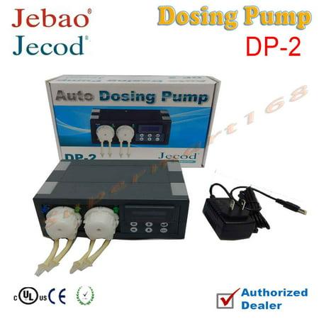 Jebao/Jecod DP-2 DP2 2-Channel Auto Dosing Pump Automatic Doser for Reef aquarium elements (PET-FILTER-DP2)