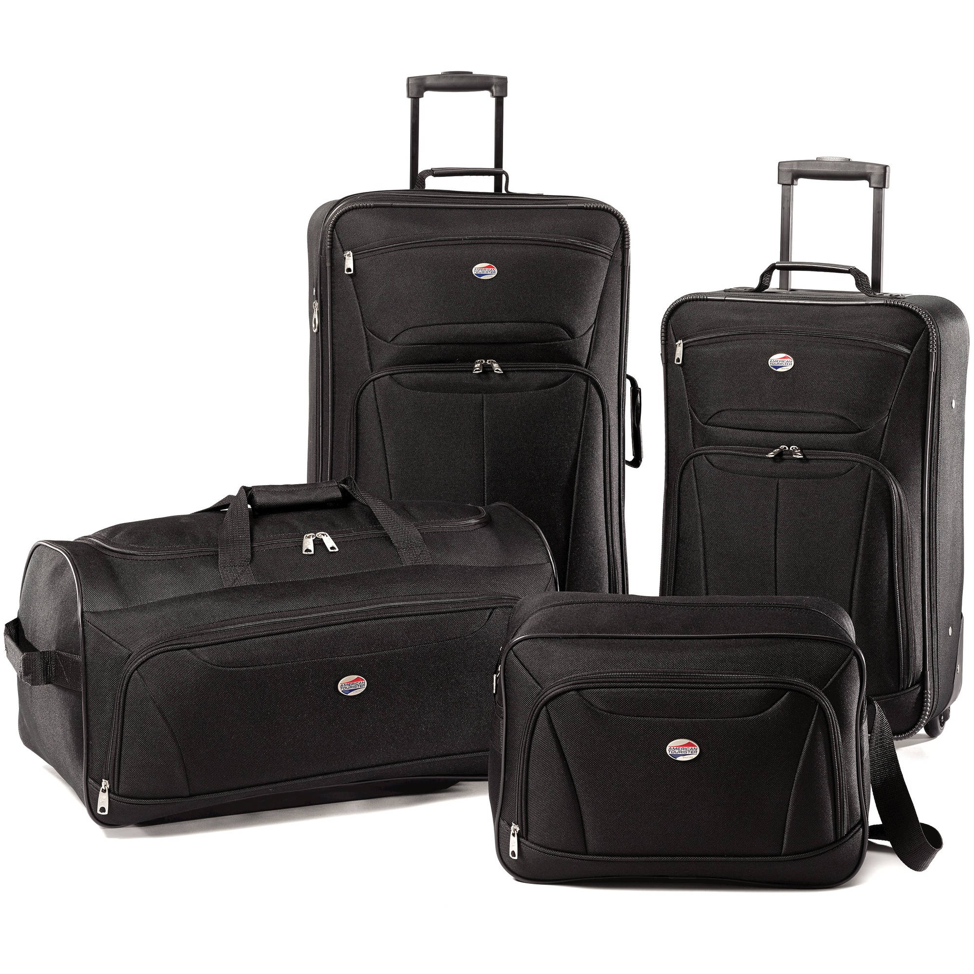 U.S. Traveler Vineyard 4-Piece Soft-Side Luggage Set - Walmart.com