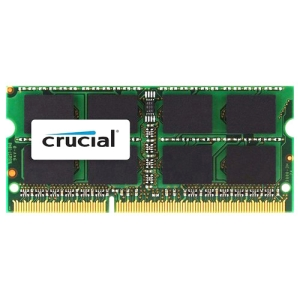 """Crucial 4GB DDR3L-1333 SODIMM Memory for Mac - CT4G3S1339M"""