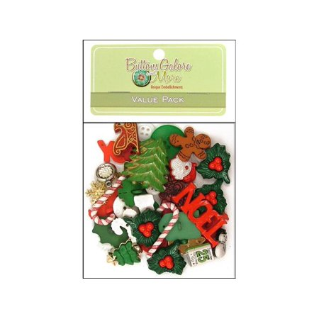 Buttons Galore Theme Value Pk Holiday