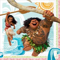Moana Party Supplies 32 Pack Lunch Napkins