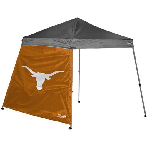 Coleman 10' x 10' Slant Leg Canopy Side Wall, Texas Longhorns