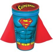 ICUP DC Comics Superman Character Chest Molded Ceramic Caped Pint