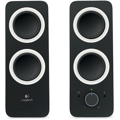 Logitech z200 Multimedia 2.0 Speakers, Black