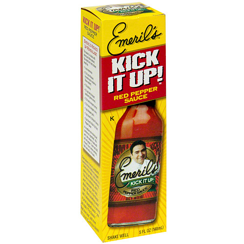 Emeril's Kick It Up Red Pepper Sauce, 5 oz (Pack of 12)