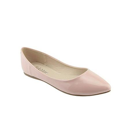 2da7258c0f2 Bella Marie - Bella Marie BellaMarie Angie-28 Women s Classic Pointy Toe  Ballet Flat Shoes ( B(M) US