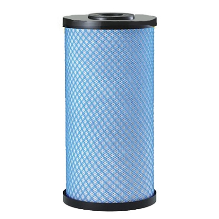 "Aqualine (21LR-451005) 9.75""x4.75"" Big Blue ""AquaPro"" Lead Reduction Carbon Block 5 Micron Filter"