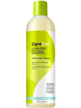 ($24 Value) Devacurl Low-Poo Original Mild Lather Shampoo, 12 Oz