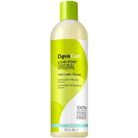 DevaCurl Low-Poo Original Cleanser, 12 Oz