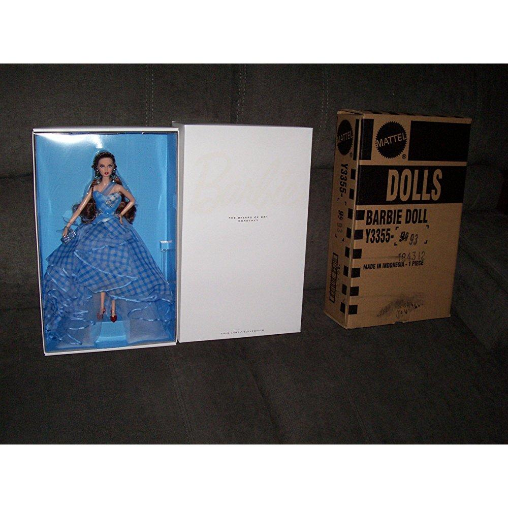 Mattel barbie the wizard of oz fantasy glamour dorothy doll.