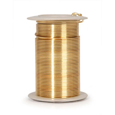 El Wire Bulk (Gold 18 Gauge Wire 10 Ydsspool)