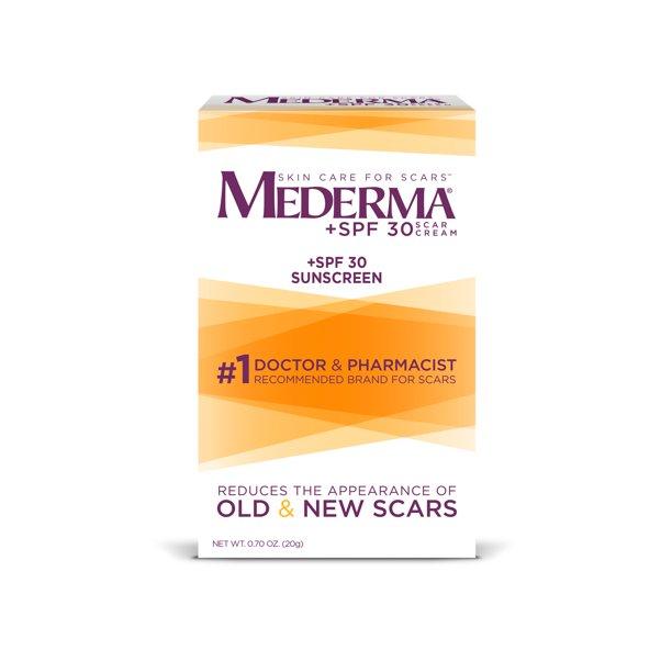 Mederma Scar Cream Spf 30 0 07oz 20g Walmart Com Walmart Com