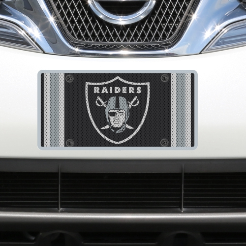 Oakland Raiders Jersey Acrylic Cut License Plate - No Size