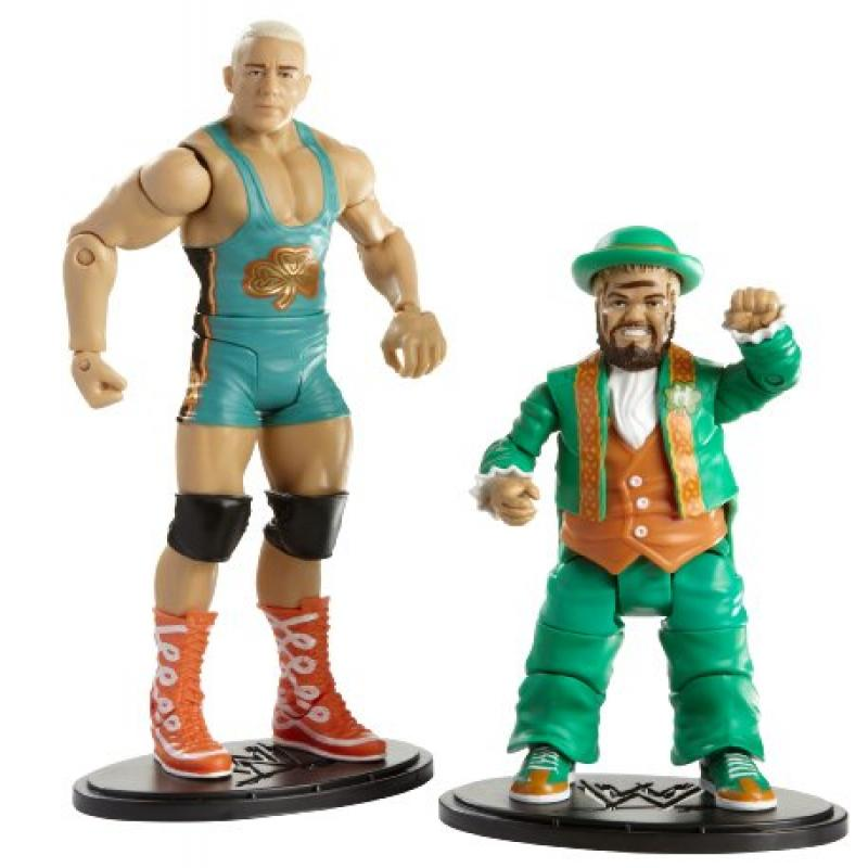 Mattel WWE Finlay and Hornswoggle Figures