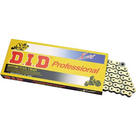 120 Links D.I.D 525ERV Gold Premium X-Ring Chain