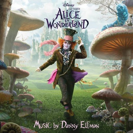 Alice in Wonderland (2010) (Score) Soundtrack (CD) - Alice In Wonderland Tim Burton Dress