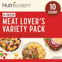 Nutrisystem Frozen Meat Lovers Variety Pack, 10 Count