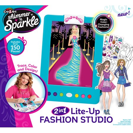 Cra-Z-Art Shimmer 'N Sparkle Light Up Fashion Designer