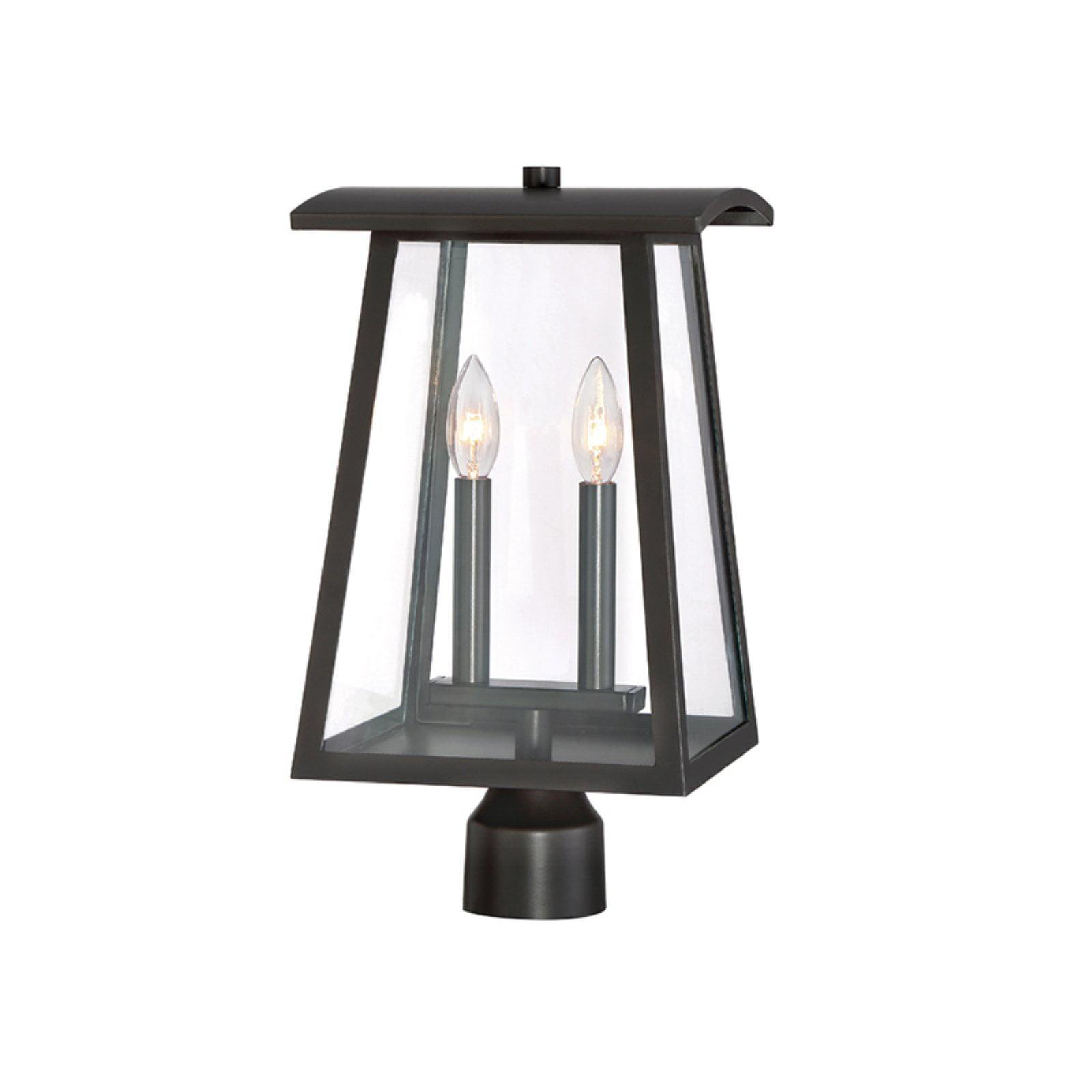 Designers Fountain Calderwood 22636-BNB Outdoor Post Lantern