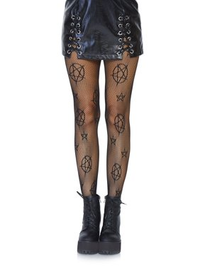 bcdb3b4bd563f Product Image Leg Avenue Women's Occult Fishnet Tights