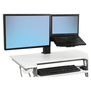 Ergotron WorkFit-T and WorkFit-PD Conversion Kit, LCD & Laptop Kit, Black