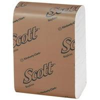 Kimberly Clark KCC98720 Dispenser Low Fold Scott Napkins, White - 12 x 7 in. - 32 Per 250 Per Carton & Pack of 32