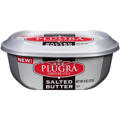 Plugra European Style Salted Butter Spread, 8 oz